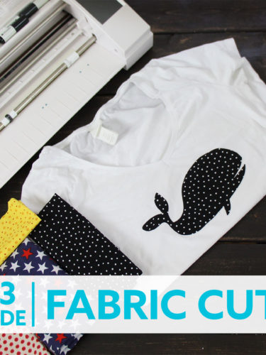 Silhouette Cameo 3 – Fabric Cutting