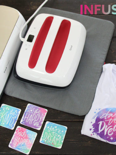 Infusible Ink How to Make a T-shirt and Coaster. Como hacer una camiseta y portavasos.