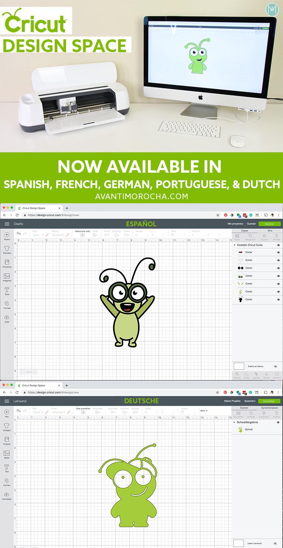 Cricut Design Space in-another-language - DS en Español