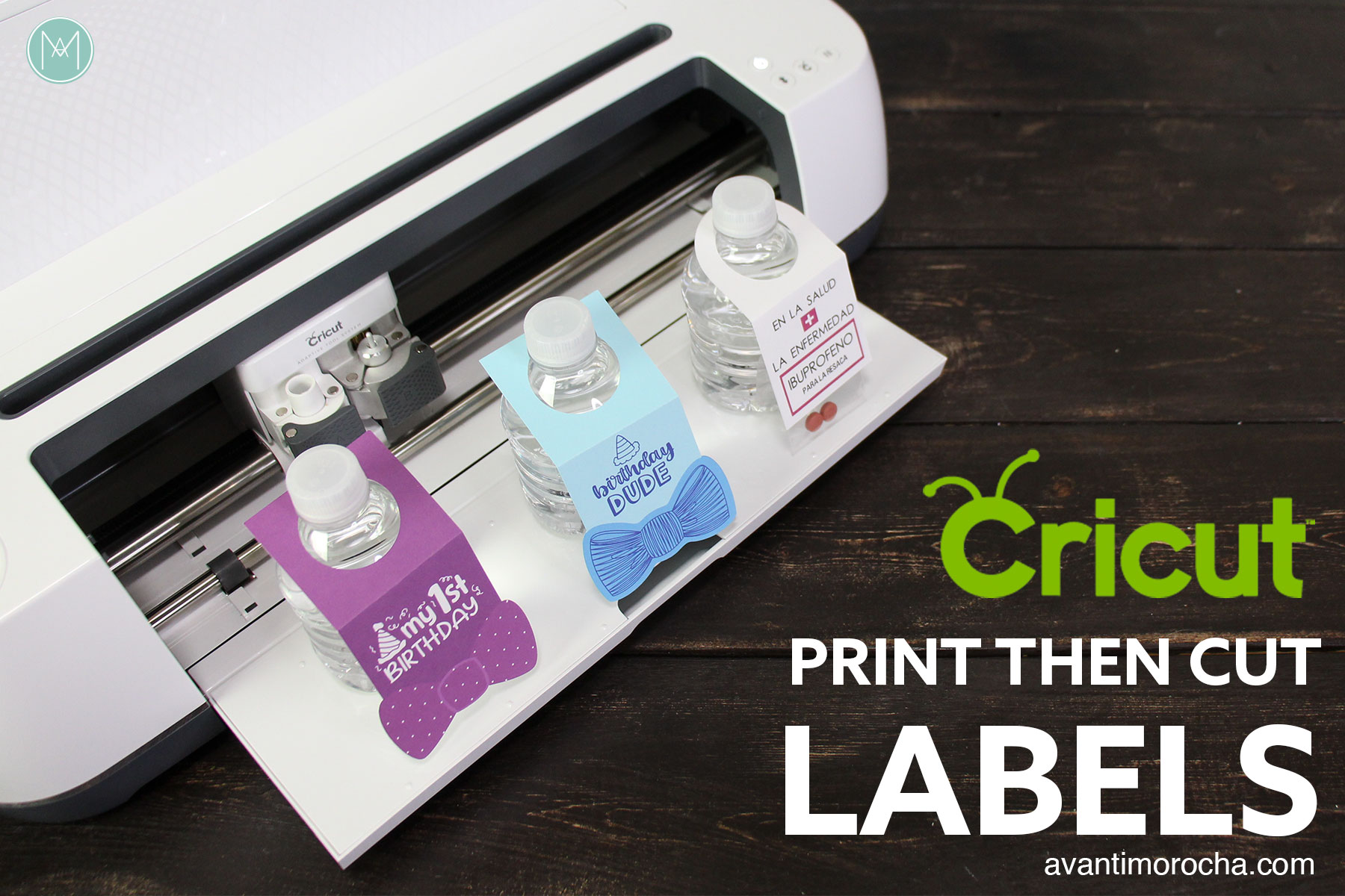 Cricut - How to Make Labels