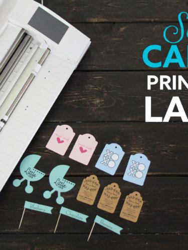 Silhouette Cameo3 Print & Cut Labels | Imprimir y Cortar Etiquetas