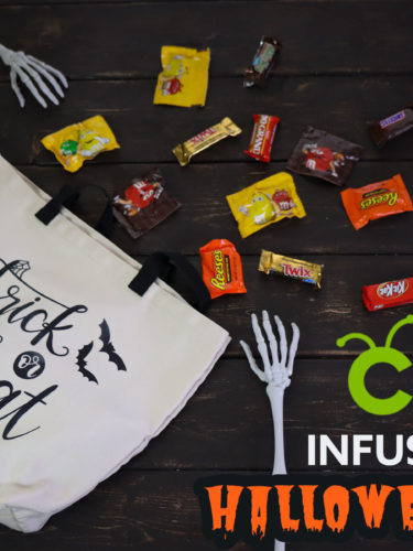 Cricut Infusible Ink – Halloween Bag