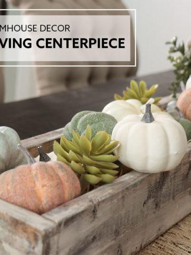 DIY Thanksgiving Centerpiece | Centro de mesa Día de Acción de Gracias