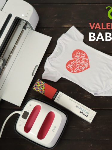 DIY Cricut Valentine's Day Onesie – Infusible Ink