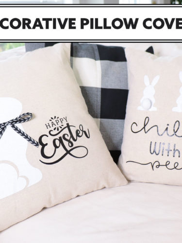 Cricut  Iron-on Easter Pillow Covers – Cojines de Pascua