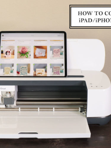 How to Connect your iPad / iPhone to Cricut | Cómo conectar tu aparato mobil iOS a Cricut.