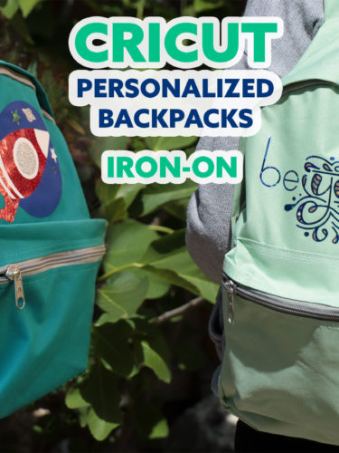 Cricut Personalized Backpacks Iron-On | Mochilas Personalizadas