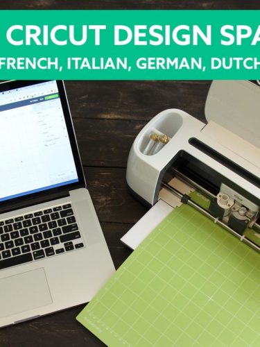 Cricut Design Space – How to use it in another language | Cricut DS en Español