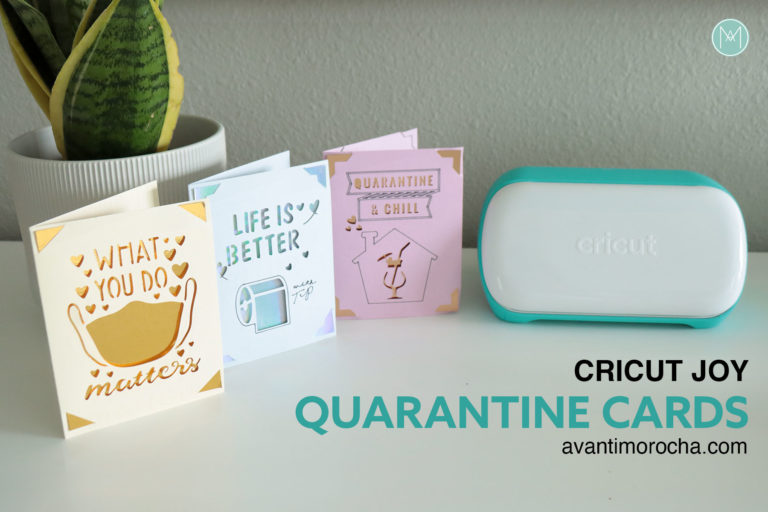 Cricut Joy Quarantine Cards