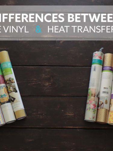 Adhesive Vinyl & Heat Transfer Vinyl