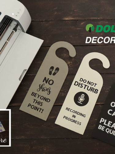 Cricut – Dollar Tree Decor Makeover