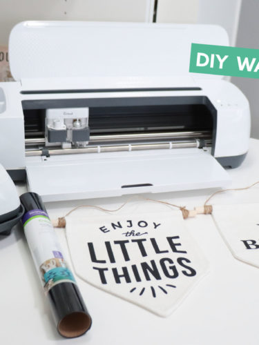 Cricut DIY Wall Banners