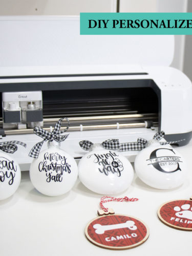 Cricut – DIY Personalized Ornaments