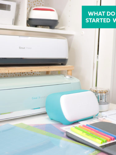 What do you need to get started with your Cricut