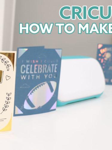 Cricut Joy – How to Make Cards