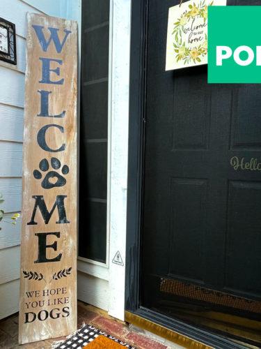Cricut- DIY Porch Sign