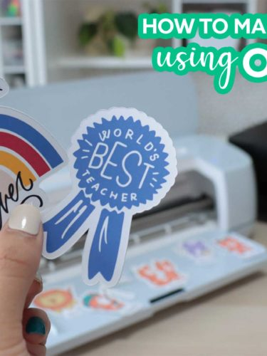 Cricut – How to make stickers using Offset